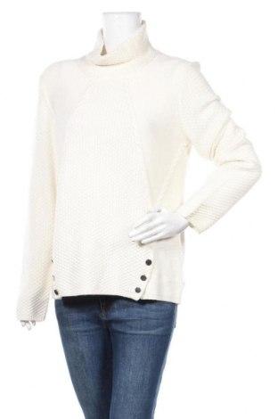 Дамски пуловер Un Deux Trois, Размер XL, Цвят Екрю, 30% вълна, 5% кашмир, 30% полиамид, 35% вискоза, Цена 71,40лв.