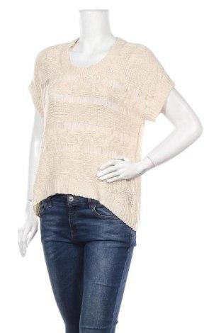 Дамски пуловер Valley Girl, Размер M, Цвят Бежов, 60% акрил, 40% полиамид, Цена 6,04лв.