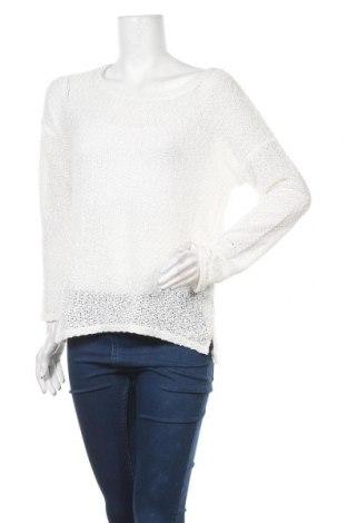 Γυναικείο πουλόβερ Valley Girl, Μέγεθος M, Χρώμα Λευκό, 94% πολυεστέρας, 6% ελαστάνη, Τιμή 5,68€
