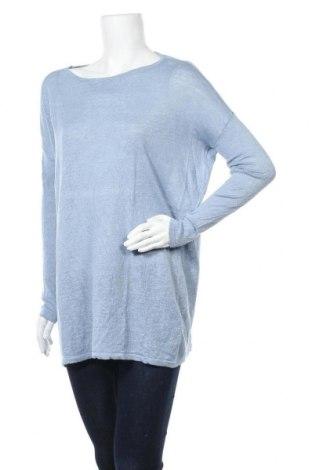Γυναικείο πουλόβερ Vila, Μέγεθος M, Χρώμα Μπλέ, Τιμή 16,24€