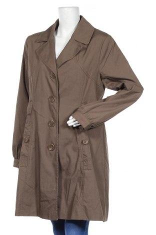 Дамски шлифер H&M, Размер XL, Цвят Кафяв, 65% полиестер, 35% памук, Цена 28,67лв.