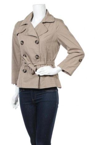 Дамски шлифер H&M, Размер S, Цвят Бежов, 65% полиестер, 35% памук, Цена 10,14лв.