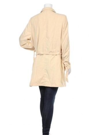 Дамски шлифер Vero Moda, Размер XL, Цвят Бежов, 82% полиестер, 18% полиамид, Цена 27,60лв.