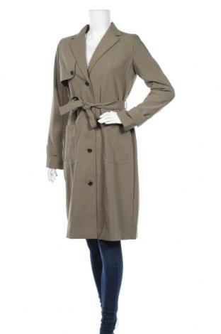 Дамски шлифер Modstrom, Размер S, Цвят Зелен, 60% вискоза, 40% полиестер, Цена 53,00лв.