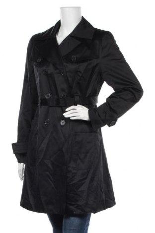 Дамски шлифер Portmans, Размер L, Цвят Черен, 60% памук, 40% полиестер, Цена 32,34лв.