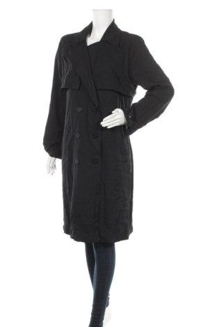 Дамски шлифер Preview, Размер M, Цвят Черен, Полиестер, еластан, Цена 45,36лв.