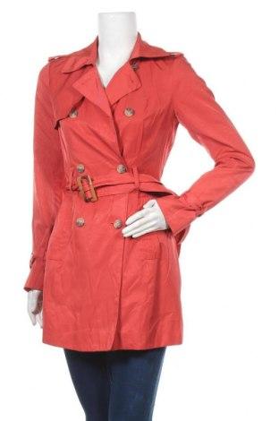 Дамски шлифер Zero, Размер S, Цвят Оранжев, 55% памук, 45% полиестер, Цена 33,81лв.