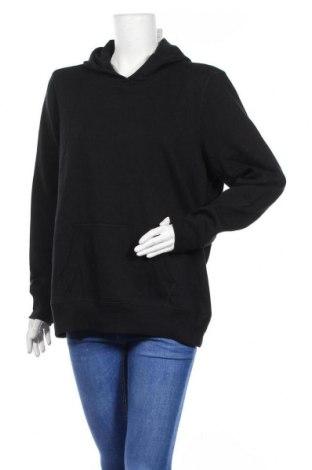 Дамски суичър Active&Co, Размер XXL, Цвят Черен, Полиестер, памук, Цена 28,67лв.