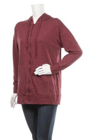 Дамски суичър Clothing & Co, Размер M, Цвят Червен, 55% полиестер, 45% памук, Цена 28,35лв.