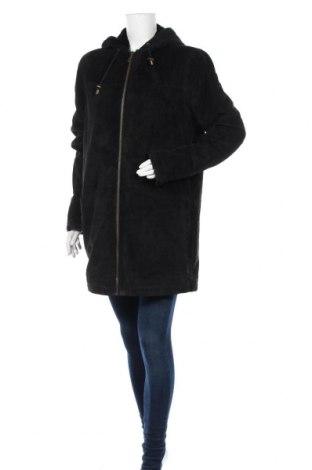 Дамско кожено палто Joy, Размер XL, Цвят Черен, Естествен велур, Цена 128,52лв.