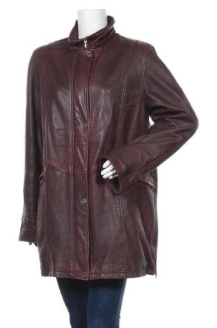 Дамско кожено яке Maddox, Размер XL, Цвят Лилав, Естествена кожа, Цена 58,01лв.