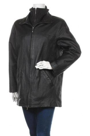 Дамско кожено яке TCM, Размер L, Цвят Черен, Естествена кожа, Цена 30,57лв.
