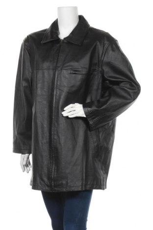 Γυναικείο δερμάτινο μπουφάν Woodpecker, Μέγεθος XXL, Χρώμα Μαύρο, Γνήσιο δέρμα, Τιμή 19,78€