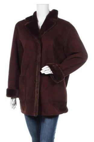 Дамско палто, Размер L, Цвят Кафяв, Цена 17,64лв.
