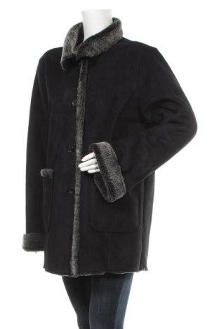 Дамско палто, Размер XL, Цвят Черен, Полиестер, Цена 25,36лв.