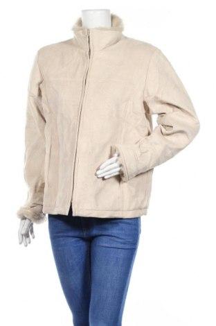 Дамско палто, Размер L, Цвят Бежов, Полиестер, Цена 15,49лв.