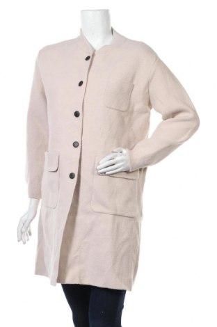 Дамско палто, Размер L, Цвят Бежов, Цена 41,58лв.