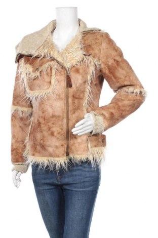 Дамско палто, Размер L, Цвят Кафяв, Цена 27,14лв.