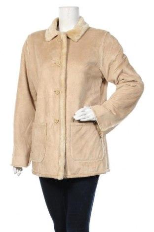Дамско палто, Размер M, Цвят Бежов, Полиестер, Цена 11,29лв.