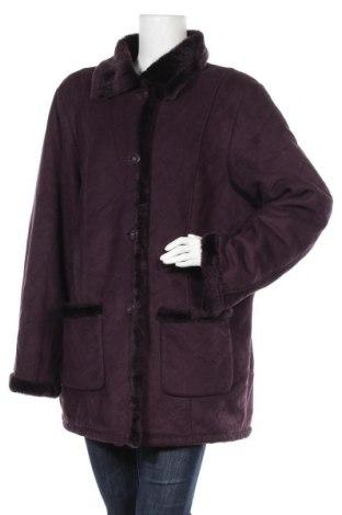 Дамско палто, Размер XL, Цвят Лилав, Полиестер, Цена 13,39лв.