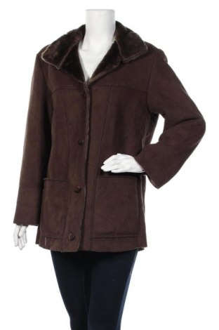 Дамско палто, Размер M, Цвят Кафяв, Цена 22,68лв.