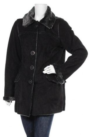 Дамско палто, Размер L, Цвят Черен, Полиестер, Цена 31,08лв.