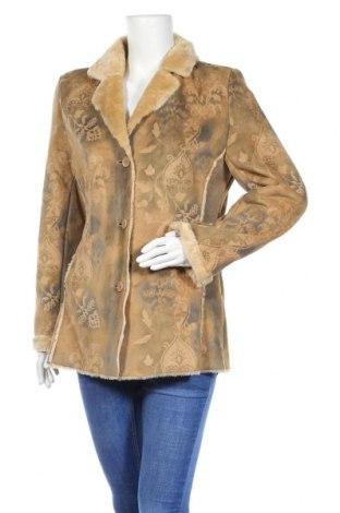 Дамско палто, Размер S, Цвят Бежов, Полиестер, Цена 34,13лв.
