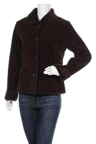 Дамско палто, Размер S, Цвят Кафяв, 80% полиестер, 20% полиамид, Цена 61,85лв.
