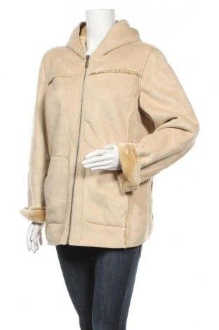 Дамско палто, Размер L, Цвят Бежов, Полиестер, Цена 16,80лв.