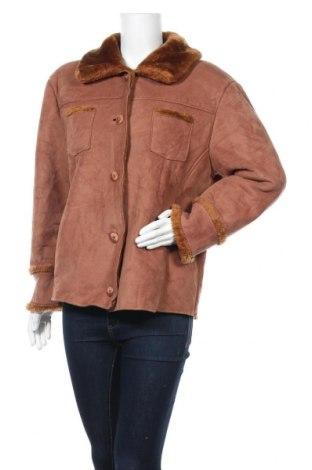 Дамско палто, Размер M, Цвят Кафяв, Полиестер, Цена 11,59лв.