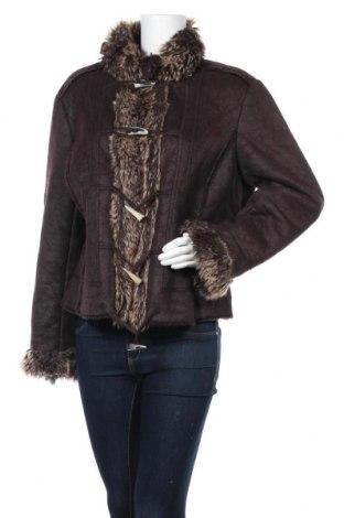 Дамско палто, Размер M, Цвят Кафяв, Полиестер, Цена 27,88лв.