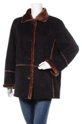 Дамско палто, Размер M, Цвят Черен, 63% акрил, 37% полиестер, Цена 17,06лв.