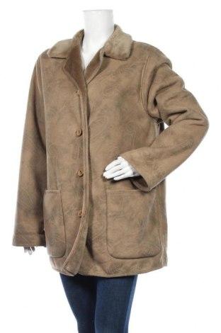 Дамско палто, Размер XL, Цвят Сив, Цена 17,64лв.