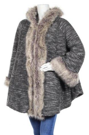 Дамско палто, Размер L, Цвят Сив, Цена 48,04лв.