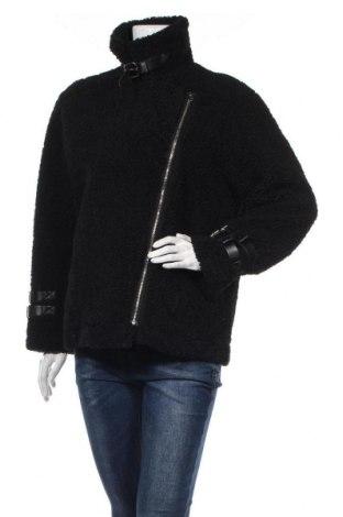 Дамско палто, Размер L, Цвят Черен, Цена 50,72лв.