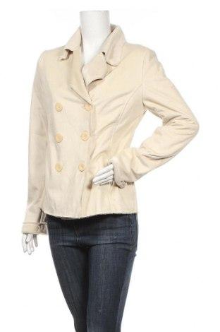 Дамско палто, Размер L, Цвят Екрю, Цена 7,56лв.