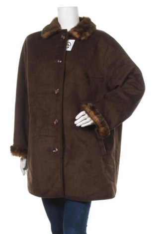Дамско палто Atelier GS, Размер XXL, Цвят Кафяв, 65% полиакрил, 35% полиестер, Цена 36,54лв.