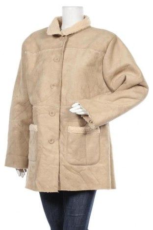 Дамско палто Atlas For Women, Размер XXL, Цвят Бежов, Полиестер, Цена 17,01лв.