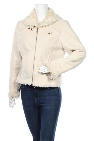 Дамско палто Biaggini, Размер M, Цвят Бежов, Полиестер, Цена 25,52лв.
