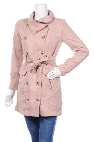 Дамско палто Boohoo, Размер XXS, Цвят Розов, 96% полиестер, 3% вискоза, 1% еластан, Цена 49,98лв.