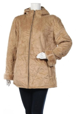 Дамско палто Boule..., Размер XL, Цвят Бежов, Полиестер, Цена 44,10лв.