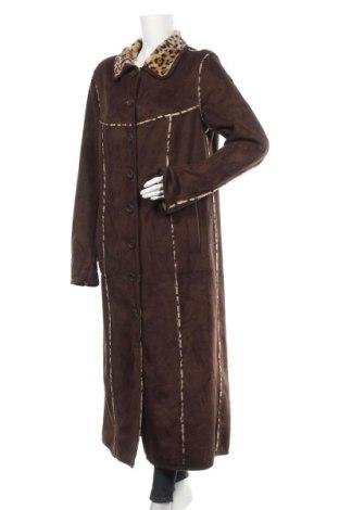 Дамско палто Bpc Bonprix Collection, Размер XL, Цвят Кафяв, Полиестер, Цена 27,20лв.