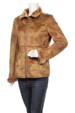 Дамско палто C&A, Размер S, Цвят Кафяв, Полиестер, Цена 21,84лв.
