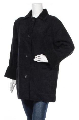 Дамско палто Canda, Размер XL, Цвят Син, 75% полиестер, 25% акрил, Цена 33,50лв.