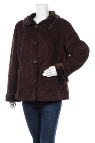 Дамско палто Canda, Размер XL, Цвят Кафяв, Полиестер, Цена 12,34лв.