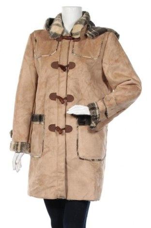 Дамско палто Cecilia Classics, Размер M, Цвят Бежов, Полиестер, Цена 16,17лв.