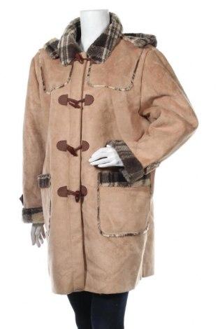 Дамско палто Cecilia Classics, Размер L, Цвят Бежов, Полиестер, Цена 24,36лв.