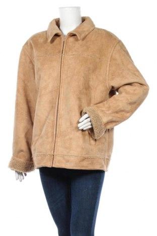 Дамско палто Clockhouse, Размер L, Цвят Кафяв, Полиестер, Цена 13,39лв.