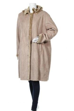 Γυναικείο παλτό Damart, Μέγεθος XXL, Χρώμα  Μπέζ, Πολυεστέρας, Τιμή 31,27€