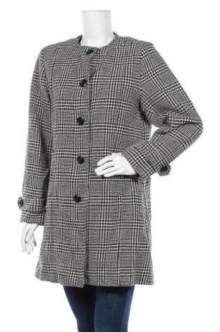 Γυναικείο παλτό Damart, Μέγεθος L, Χρώμα Λευκό, 80% πολυεστέρας, 20% μαλλί, Τιμή 39,43€